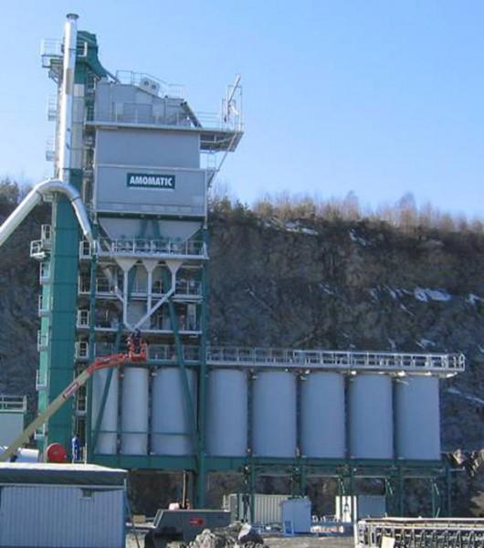 Высокие асфальтовые заводы Amomatic H