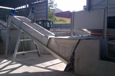 Оборудование рециклинга остатков бетона WAM (Италия)