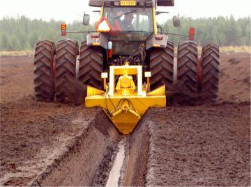 Торфяное оборудование SUOKONE для добычи торфа и содержания торфяных полей