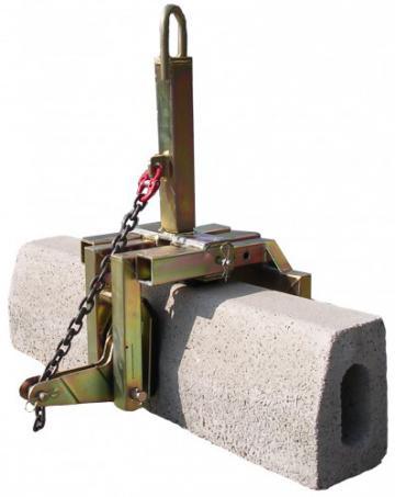 Захват для блоков и бордюрных камней PMD